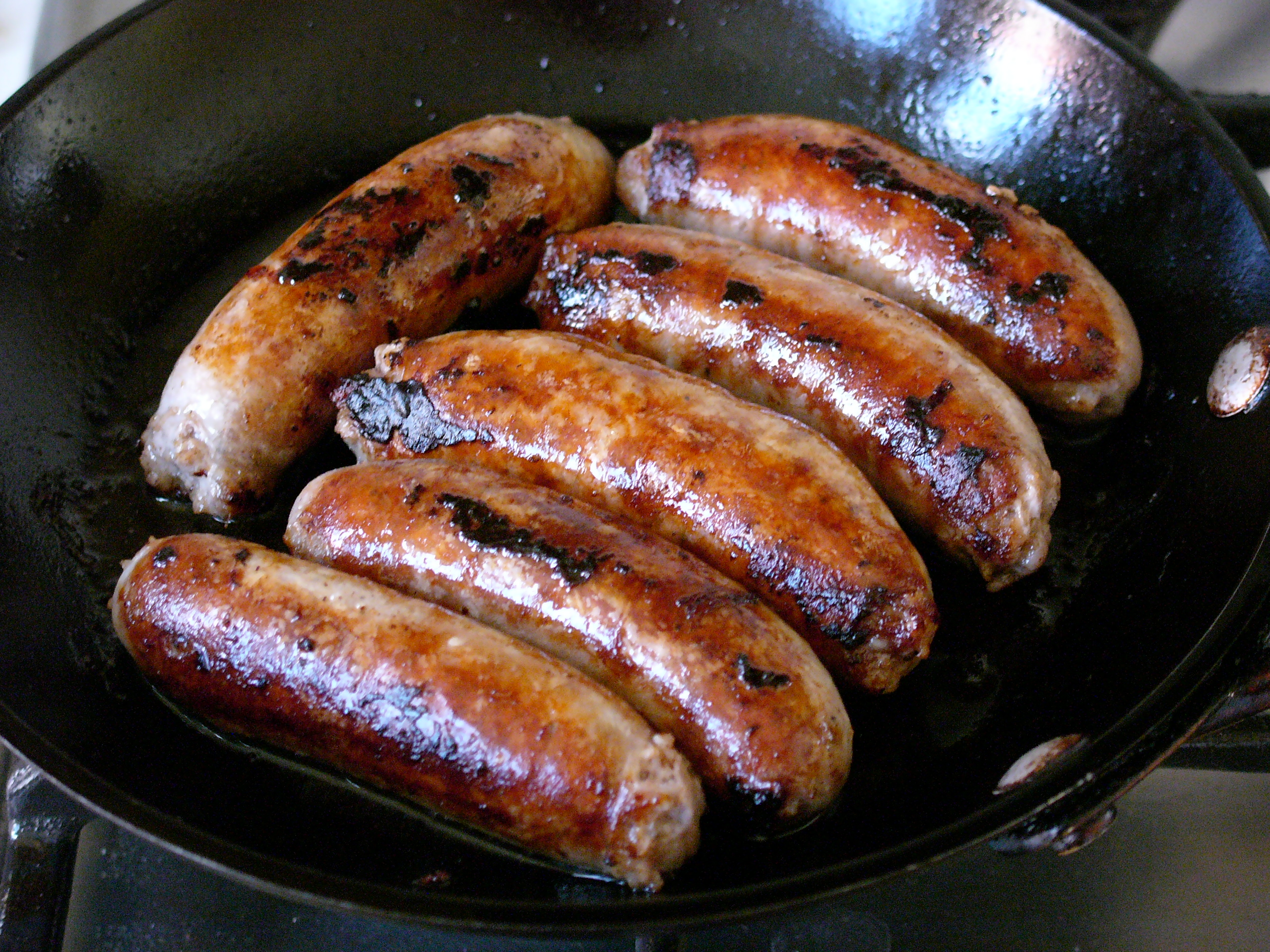 How To Cook Sausages Without Them Bursting Beyond Baked